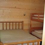 Deluxe Cabin, Bedroom