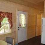 Deluxe Cabin, Front Door and Hall
